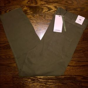 Zara Bag Waist Army Pants